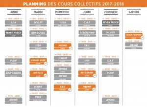 Sporting club porticcio planning des cours collectifs 2017 2018 planning des cours collectifs 2017 2018 fandeluxe Gallery